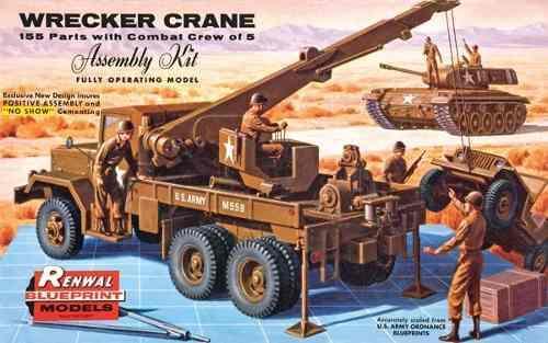 revell-monogram-military-wrecker-truck-renwal