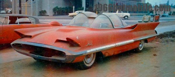 The 1955 Ford Futura that was sold in 1960 to auto customizer George Barris for $1. In 1966 he turned it into the Batmobile.
