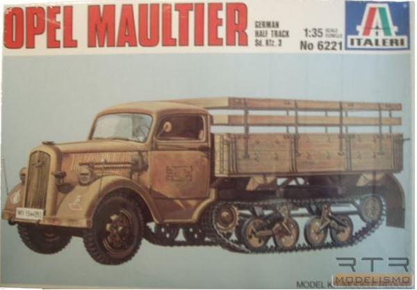 Maultier Italeri Old