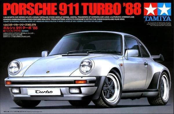 Porsche 911 Turbo Tamiya
