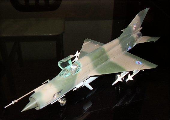 Mig 21 front