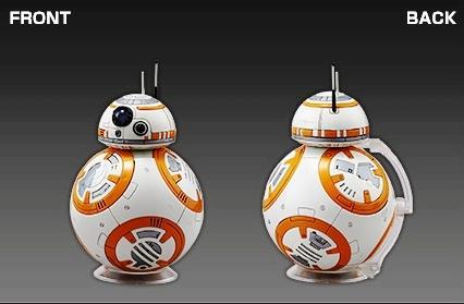 Bandai R2-D2 & BB-8 [3)