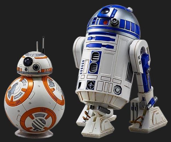 Bandai R2-D2 & BB-8 [1)