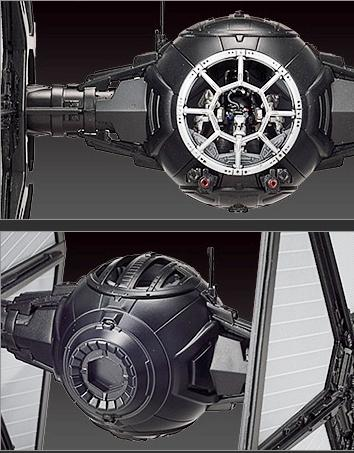 First Order Tie Fighter Bandai [5)