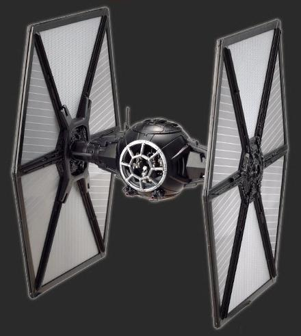 First Order Tie Fighter Bandai [6)