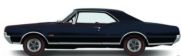 Oldsmobile 442 66-67