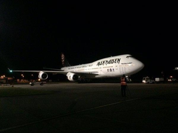 747 Iron Maidem