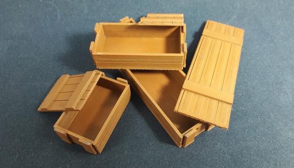 Caixas de Madeira 02