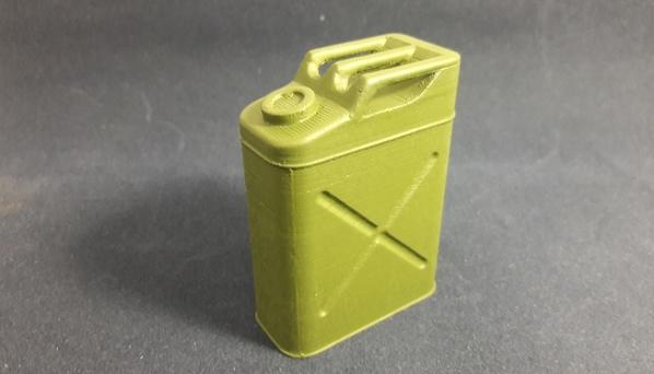 Galão de Gasolina USA WWII 01