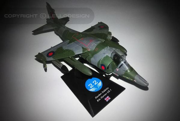 ED.22 - Hawker-Siddeley BAe Harrier GR.3 [UK)