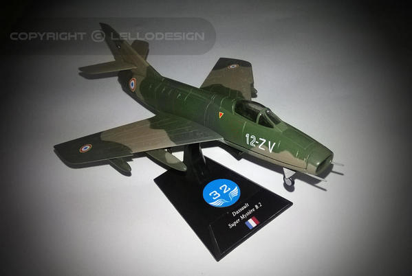 ED.32 - Dassault Super Mystère B.2 [FR)