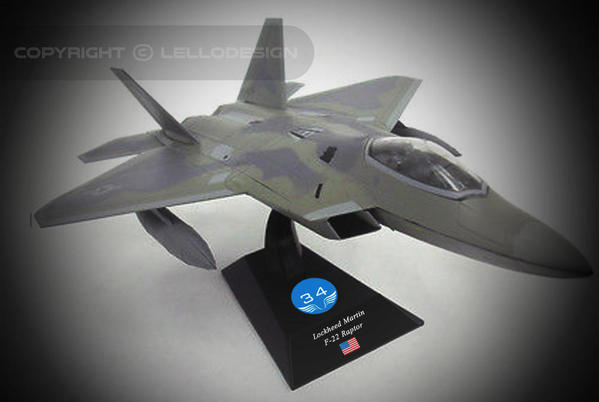 ED.34 - Lockheed Martin F-22 Raptor [US)
