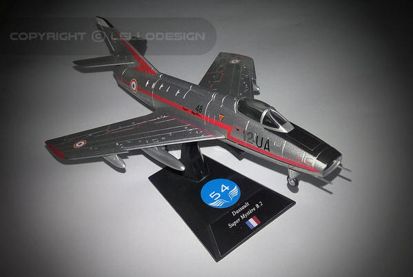 ED.54 - Dassault Super Mystère B.2 [FR)