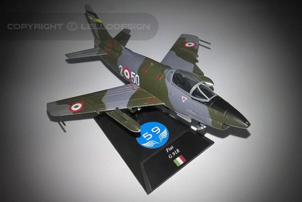 ED.59 - FIAT G.91R GINA [IT)