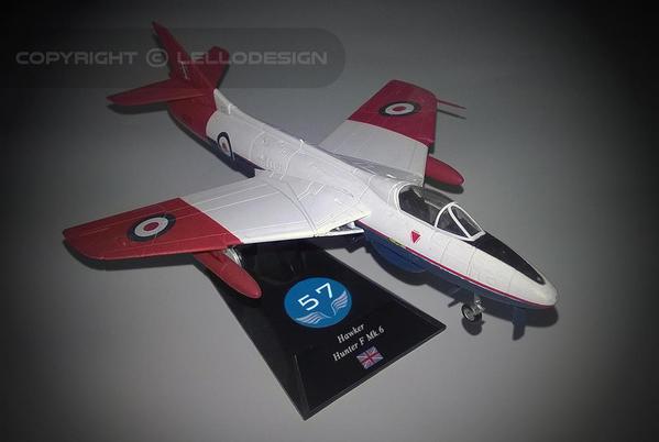 ED.57 - Hawker Hunter F Mk.6 [UK)