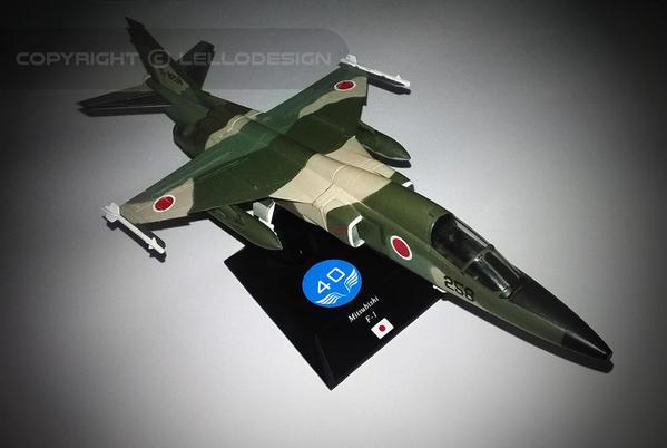 ED.40 - Mitsubishi F-1 [JP)