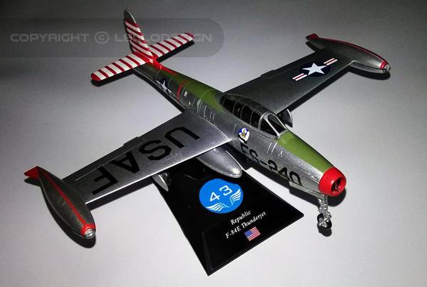 ED.43 - Republic F-84E ThunderJet [US)