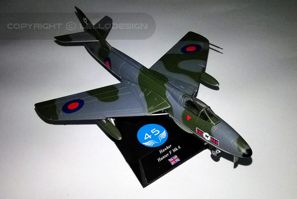 ED.45 - Hawker F Mk.6 Hunter [UK)
