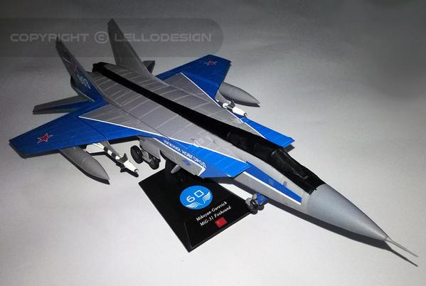 ED.60 - Mikoyan-Gurevich MiG-31 Foxhound [URSS)