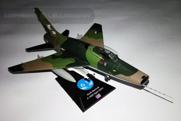 ED.61 - North American F-100D Super Sabre [US)