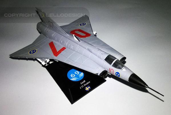 ED.69 - SAAB J.35 Draken [SW)