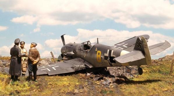 b4c6f9a0cb-Diorama Bf109 x