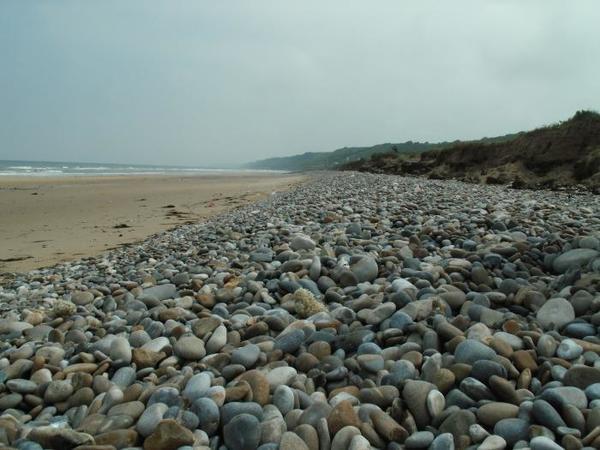 Praia om pedras