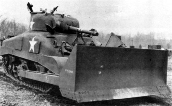 M4-Sherman-medium-tank-equipped-with-bulldozer-blade-circa-1944