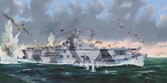 German Navy Graf Zeppelin aircraft carrier