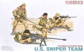 Resultado de imagem para U.S. SNIPER 1/35 DRAGON