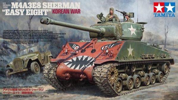 Easy Eight Korean War box