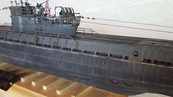 u-515 revell 1-72