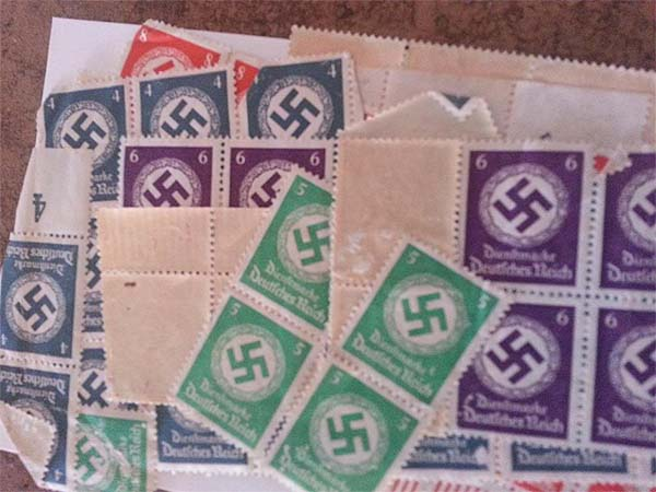 nazi stamps