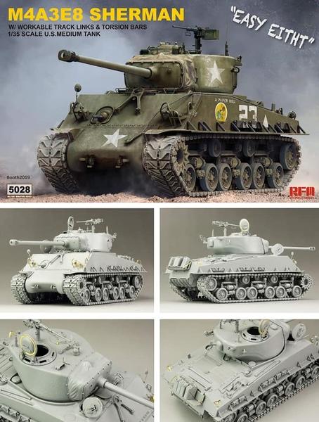 M4A3E8 RFM Options