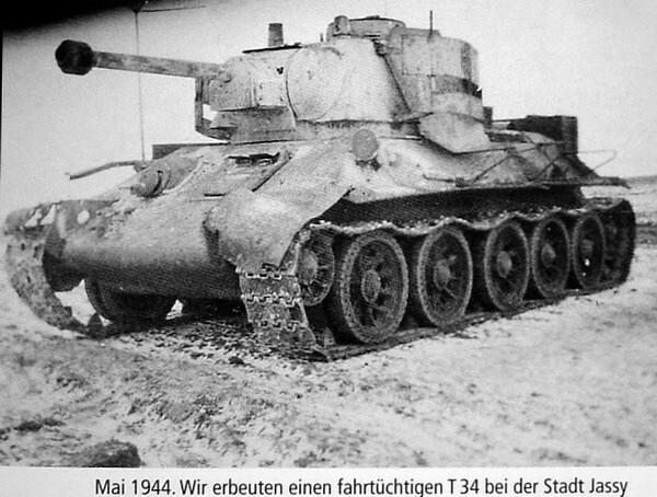 Captured T-34