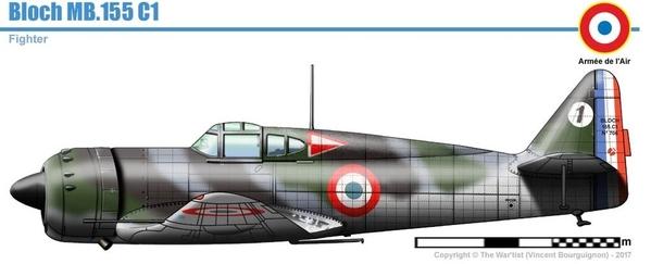 MB 151 - Profile MB 155C-1