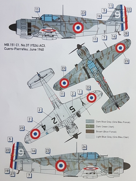 MB 151 -Version B
