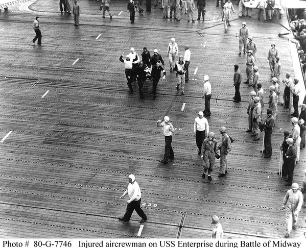 wounded midway