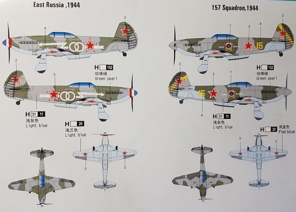 Yak-3 Versions