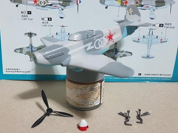 6. Yak-3 Camuflagem Finalziada e decais