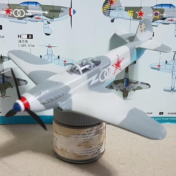 7. Yak-3 Canopi e spínner