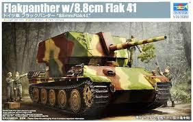Flakpanther w/8,8cm Flak 41, Trumpeter 09530 [2020)