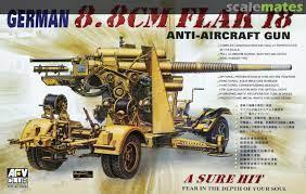 GERMAN 8.8 CM FLAK 18, AFV Club AF35088 [2005)
