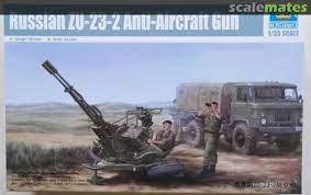 ZU-23-2 Anti-Aircraft Gun, Trumpeter 02348 [2014)
